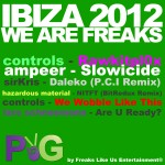 Purple & Green IBIZA 2012 We are Freaks
